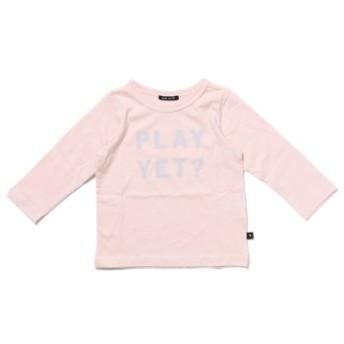 (COMECHATTO & CLOSET/カムチャットアンドクロゼット)テンジク PLAY YET 長袖 Tシャツ/レディース ピンク