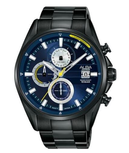 ALBA VD57-X136SD(AM3601X1)時尚潮流時腕錶/藍面 43mm