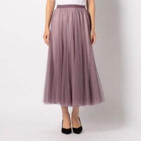 [マルイ] チュールミモレスカート/ミューズ リファインド クローズ(MEW'S REFINED CLOTHES)