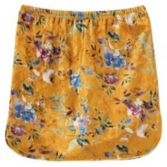 【EMODA:スカート】ヴィンテージフラワーミニスカート
