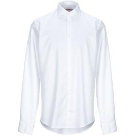 《期間限定セール開催中!》SUN 68 メンズ シャツ ホワイト M コットン 100%