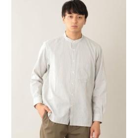 (MACKINTOSH PHILOSOPHY/マッキントッシュ フィロソフィー)バンドカラーシャツ/メンズ オフホワイト