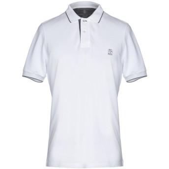 《9/20まで! 限定セール開催中》BRUNELLO CUCINELLI メンズ ポロシャツ ホワイト S コットン 100%