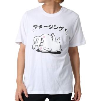 [ヨッシースタンプ] Tシャツ プリント 半袖 メンズ 柄3:(ボディ:ホワイト/プリント:アメージング) L:(身丈69cm 肩幅43cm 身幅52cm 袖丈24cm)