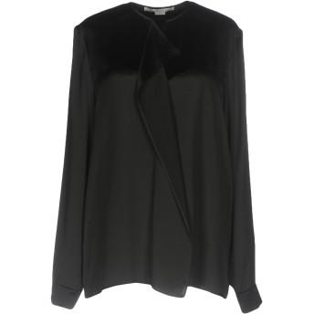 《セール開催中》STELLA McCARTNEY レディース シャツ ブラック 40 シルク 100%
