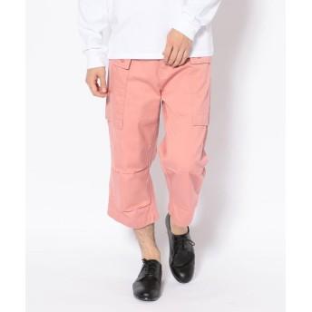 【30%OFF】 アヴィレックス エアロ クロップド パンツ/ BU AERO CROPPED PANTS メンズ PINK XL 【AVIREX】 【セール開催中】