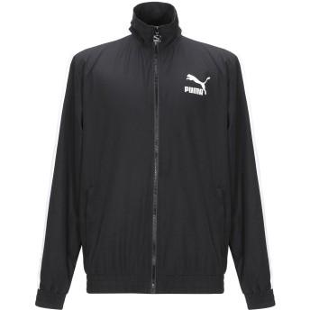 《セール開催中》PUMA メンズ ブルゾン ブラック S ポリエステル 100% Iconic T7 Track Jacket