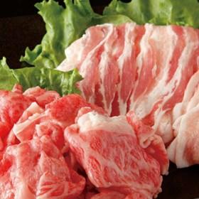 027-C03 【満腹セット】 山形牛切落し800g・山形県産豚バラスライス1kg