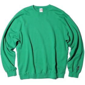 VOTE MAKE NEW CLOTHES ビッグスウェット【ESTNATION EXCLUSIVE】 グリーン/LARGE(エストネーション)◆メンズ スウェット