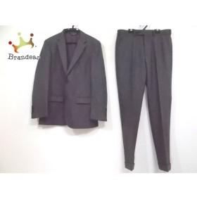 ブルックスブラザーズ BrooksBrothers シングルスーツ メンズ グレー 肩パッド/ネーム刺繍   スペシャル特価 20190918