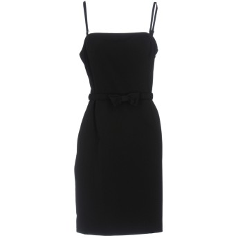 《セール開催中》SCEE by TWINSET レディース ミニワンピース&ドレス ブラック L ポリエステル 95% / ポリウレタン 5%