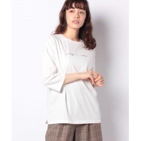 ジーラ 大人ロゴTシャツ レディース ホワイトロゴ M 【GeeRa】