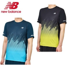 98bfa69982c48 ニューバランス(new balance) HANZO NBICE プリントショートスリーブT ...