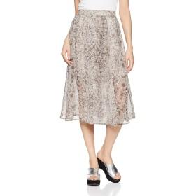 [ウィゴー] WEGO シフォン パイソン スカート FREE フリー サイズ グレー レディース