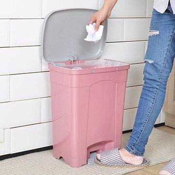 【nicegoods】KEYWAY吉利潔腳踏式垃圾桶25L (回收 分類 環保)