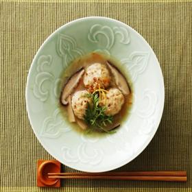 島根のゆず風味鶏だんご野菜あん(1パック約200g×4個)