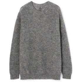 【OCEANS 11月号掲載商品】ハラダマニア Crewneck Pullover Knit ライトグレー/LARGE(エストネーション)◆メンズ ニット/セーター