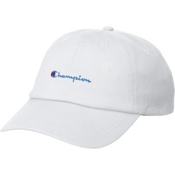 Champion チャンピオン LowCap ローキャップ 帽子 FREE フリーサイズ ホワイト メンズ