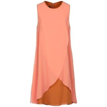 《セール開催中》EMPORIO ARMANI レディース ミニワンピース&ドレス オレンジ 40 アセテート 67% / シルク 33% / ポリエステル