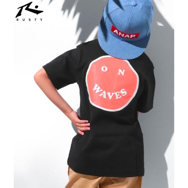 【セール開催中】ANAP(アナップ)RUSTY キッズ Tシャツ