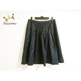 セオリーリュクス theory luxe スカート サイズ38 M レディース 美品 黒 新着 20190716