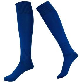 メンズ 靴下 トレッキング ソックス 着圧 ハイソックス 登山 ゴルフ スキー ハイキング アウトドアウェア スポーツ ソックス 吸汗 通気 靴下 [ 1組 ] (ブルー)
