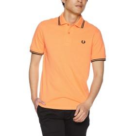[フレッドペリー] ポロシャツ Twin Tipped Fred Perry Shirt M12N メンズ H70MELON/ BLACK UK 42 (日本サイズXL相当)