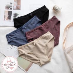 【mystic神秘者】棉質純色低腰三角內褲(共6色)