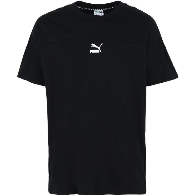 《期間限定セール開催中!》PUMA メンズ T シャツ ブラック S コットン 100% XTG Tee
