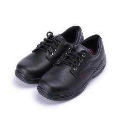PAMAX 素面綁帶鋼頭安全鞋 黑 男鞋 鞋全家福