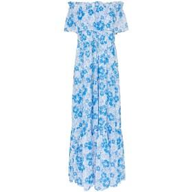 All Things Mochi Kona オフショルダー ドレス - ブルー