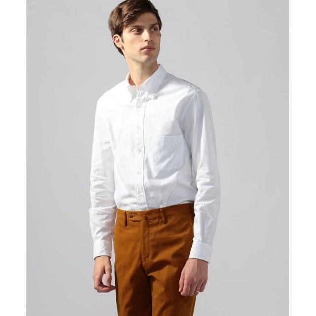 トゥモローランド コットンオックスフォード ボタンダウンシャツ メンズ 11ホワイト XS 【TOMORROWLAND】