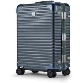 [ランツォ] スーツケース ノーマン 21インチ 機内持込可 34L 49cm 4.6kg 【162106】Gray/Gray