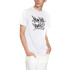 [マジェスティック] TAGGING Tシャツ MM01NYK8S29 [メンズ] ホワイト (3) 日本 L (日本サイズL相当)
