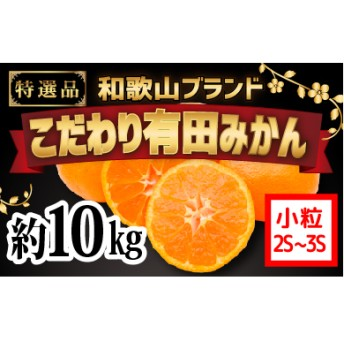 【こだわり】有田みかん 10kg(2S・3Sサイズ)