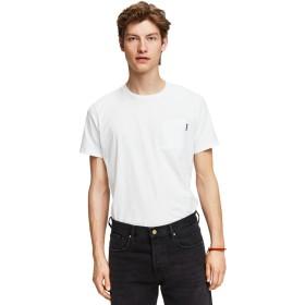 Tシャツ - stylise スコッチ&ソーダ Tシャツ SCOTCH & SODA Basic T-Shirt ホワイト 282-84410 メンズトップス 半袖 Tee カットソー 胸ポケット アメカジ