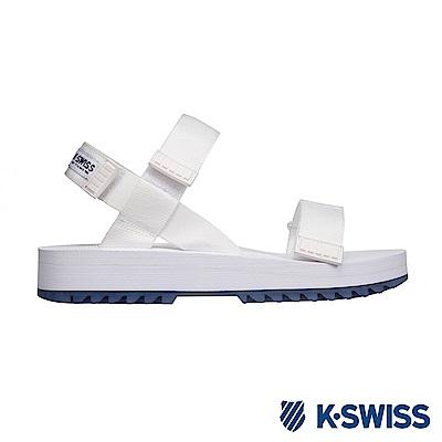 K-SWISS Pier 時尚涼鞋 女 白 76540-155