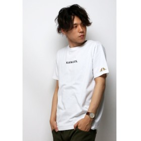 【ヴァンスシェアスタイル/VENCE share style】 別注 KANGOL カンゴール 刺繍Tシャツ