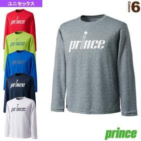 プリンス テニス・バドミントンウェア(メンズ/ユニ)  ロングスリーブシャツ/ユニセックス(WU9033)
