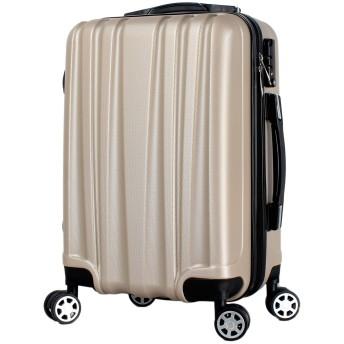 [楽勝] スーツケース キャリーバッグ 機内持ち込み SS サイズ 軽量 レディース 100以下 29L 2.6kg SS シャンパン