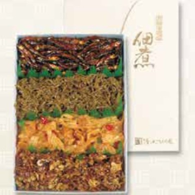 【伝統の味 八郎潟の佃煮】つくだ煮四種詰合せ 700g(お徳用)