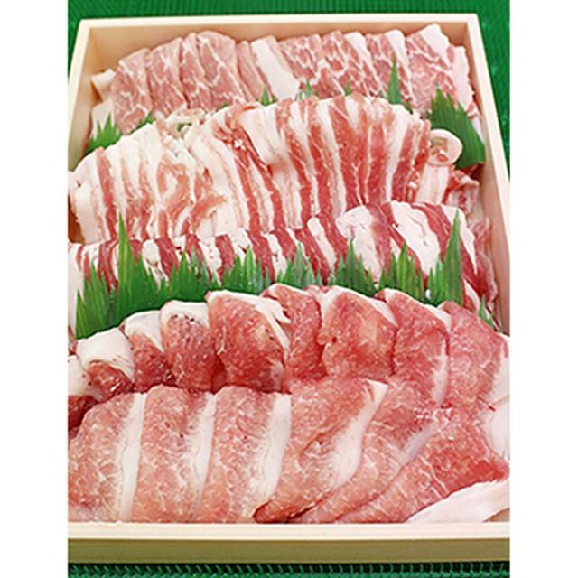 阿波市産豚肉しゃぶしゃぶ 約900g (ロース約450g・バラ約450g)