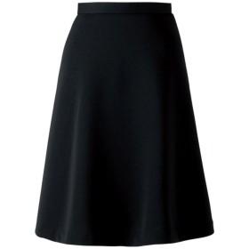 フレアースカート(アンジョア)51693 ブラック 制服