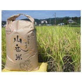 D0021 山香ゆうきの会の米30kg(玄米:あきさかり)