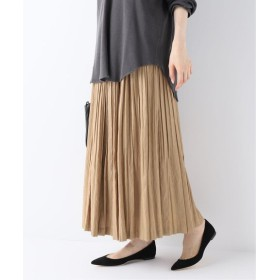 FRAMeWORK Chambray twill Pleated スカート◆ ブラウン 36