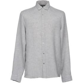 《セール開催中》MICHAEL KORS MENS メンズ シャツ ライトグレー XS 麻 100%