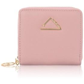 S-win 財布レディース二つ折りコンパクト小さい財布ウォレットカード入れ小銭入れレザー人気可愛い母の日プレゼント2019年新型(ピンク02)