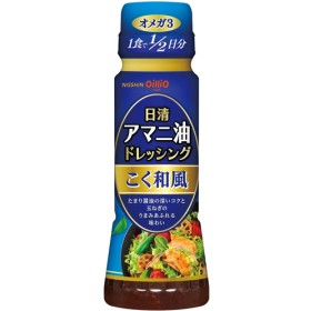 日清 アマニ油ドレッシング こく和風 (160mL)