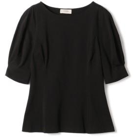 VONDEL / パフスリーブカットソー ブラック/36(エストネーション)◆レディース Tシャツ/カットソー
