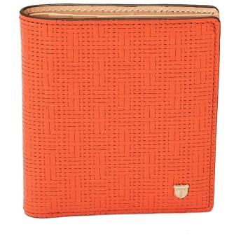 [トプカピ] Ritmo[リトモ]メッシュ柄型押し・カードケース 511148002300 コーラルオレンジ